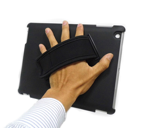 Soft Grip iPad Air Handle Stand